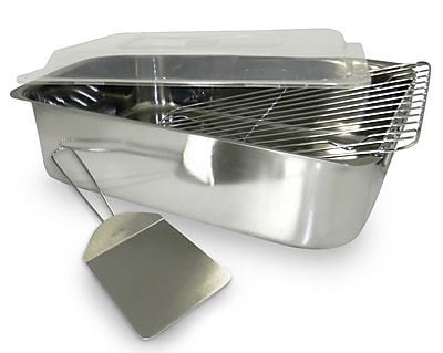 Cook Pro Stainless Steel Deep Lasagna Pan