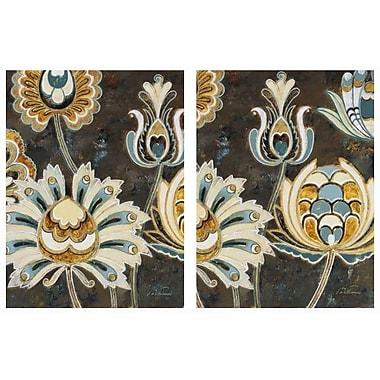 NielsenBainbridge Pinnacle Mancusco Scroll 2 Piece Graphic Art on Canvas Set