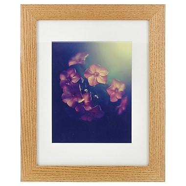 NielsenBainbridge Gallery Solutions Hardwood Mat Picture Frame; 8'' x 10''