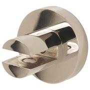 Alno Contemporary I Shelf Brackets Only (Set of 2); Polished Nickel
