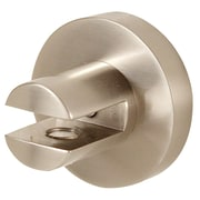 Alno Contemporary I Shelf Brackets Only; Satin Nickel