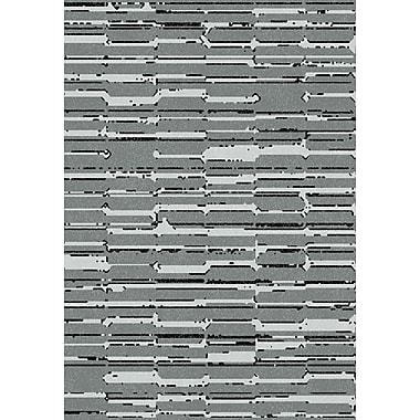 Dynamic Rugs Flair Gray Area Rug; Rectangle 6'7'' x 9'6''