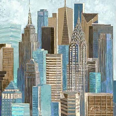 NielsenBainbridge Pinnacle A Walk in the City Painting Print on Canvas