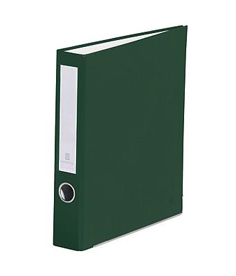 Bindertek 3-Ring 2-Inch Premium Binders, Evergreen (3SLN-EV)