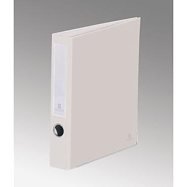 Bindertek 3-Ring 2-Inch Premium Binders, White (3SLN-WH)