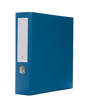 Bindertek 3-Ring 3-Inch Premium Binders, Navy (3EFN-NV)