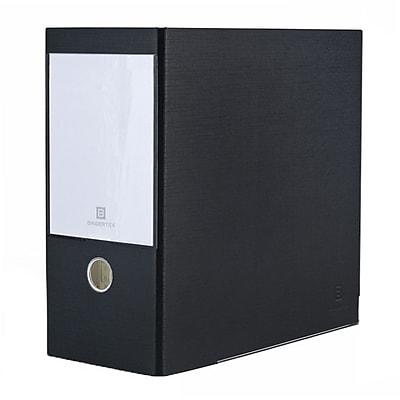 Bindertek 3-Ring 5-Inch Premium High Capacity Binders, Black (3XXLN-BK)