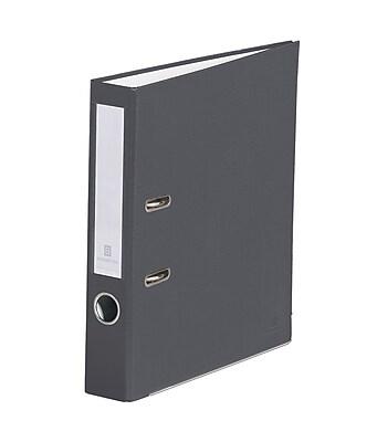 Bindertek 2-Ring 2-Inch Premium Binders, Dark Grey (SLN-DG)
