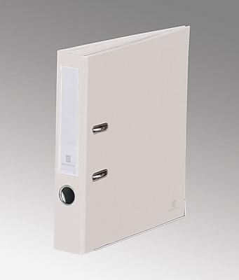 Bindertek 2-Ring 2-Inch Premium Binders, White (SLN-WH)