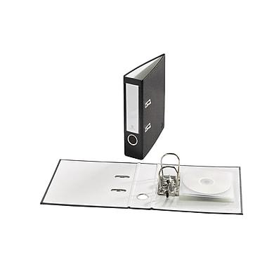 Bindertek – Mini cartables à 2 anneaux de 2 po de première qualité, noir (FFS-BK)