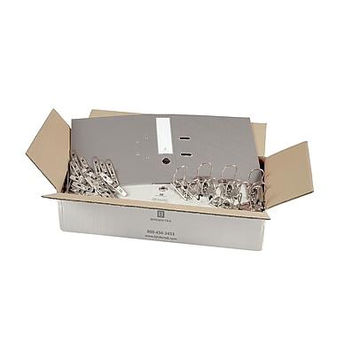 Bindertek 2-Ring 2-Inch Unassembled Premium Binder Packs, Light Grey (SLBN-LG)