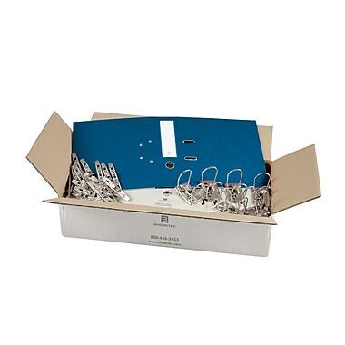 Bindertek – Ensemble de cartables à 3 anneaux de 2 po non assemblés, bleu marine, 25/paquet (EFBN-NV)