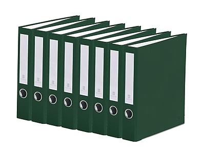 Bindertek 3-Ring 2-Inch Premium Binder 7-Pack, Evergreen (3SLPACK-EV)