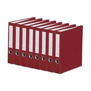 Bindertek 3-Ring 2-Inch Premium Binder, 7/Pack