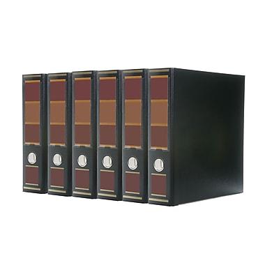 Bindertek – Reliure à 3 anneaux de 3 po de première qualité, noir avocat, 5/paquet (3EFPACK-BB)