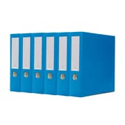 Bindertek 3-Ring 3-Inch Premium Binder 5-Pack, Ocean Blue (3EFPACK-OB)