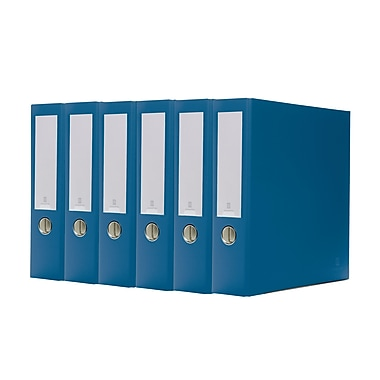Bindertek 3-Ring 3-Inch Premium Binder, Navy, 5/Pack (3EFPACK-NV)