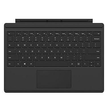 Microsoft - Étui Surface Pro 4 Type, anglais, noir