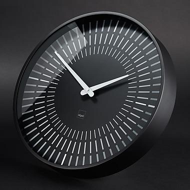 Sigel – Horloge murale Artetempus Design, modèle Lox, noir (SGCLOCK1-BK)