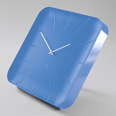 Sigel Artetempus Design Wall Clock, Inu Model, Blue (SGCLOCK3-BL)
