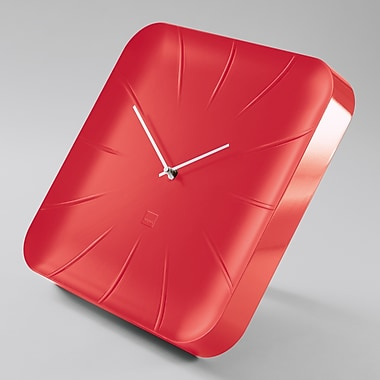 Sigel Artetempus Design Wall Clock, Inu Model, Fresh Red (SGCLOCK3-RD)