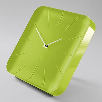 Sigel Artetempus Design Wall Clock, Inu Model, Lemon Green (SGCLOCK3-GR)