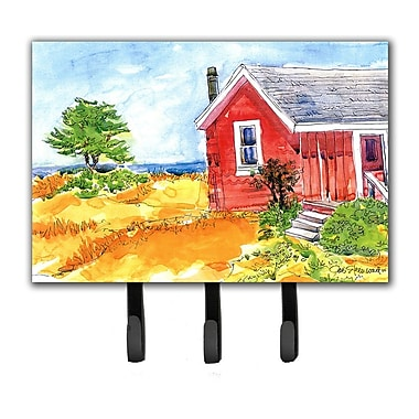 Caroline's Treasures Old Cottage House at The Lake Or Beach Leash Holder and Key Hook