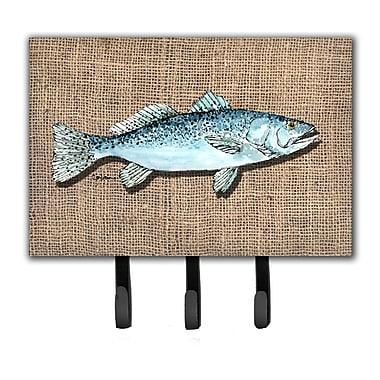 Caroline's Treasures Fish Speckled Trout Leash Holder and Key Holder