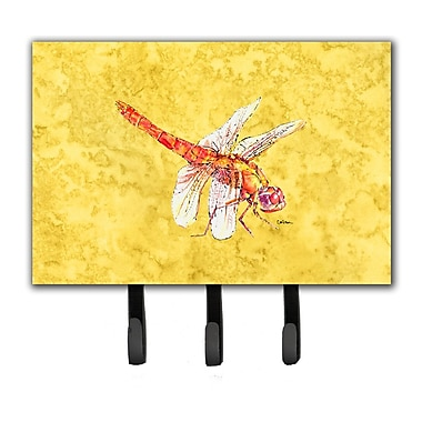 Caroline's Treasures Dragonfly Leash Holder and Key Hook