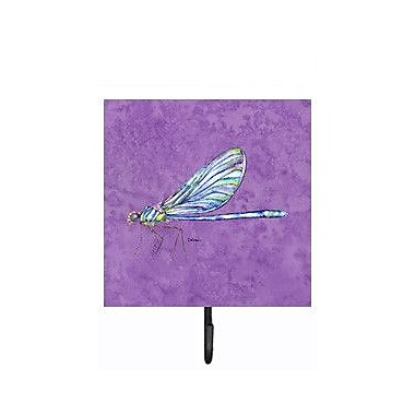 Caroline's Treasures Dragonfly Leash Holder and Wall Hook