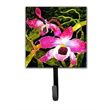 Caroline's Treasures Orchid Flower Wall Hook