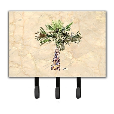 Caroline's Treasures Palm Tree Leash Holder and Key Hook