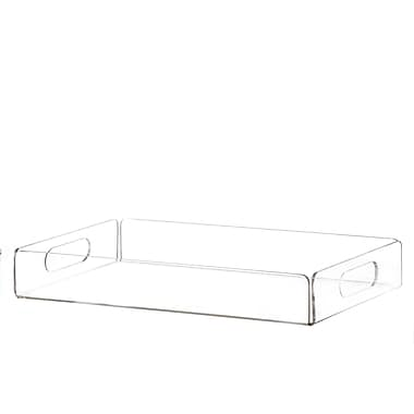 Home-it Clear Decorative Tray