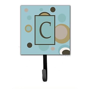 Caroline's Treasures Monogram Dots Wall Hook; C