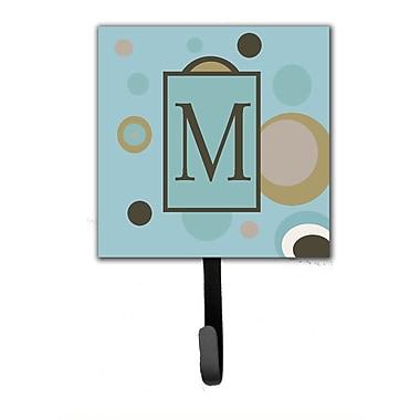 Caroline's Treasures Monogram Dots Wall Hook; M