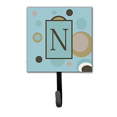 Caroline's Treasures Monogram Dots Wall Hook; N