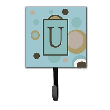 Caroline's Treasures Monogram Dots Wall Hook; U