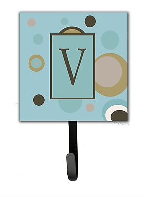 Caroline's Treasures Monogram Dots Wall Hook; V