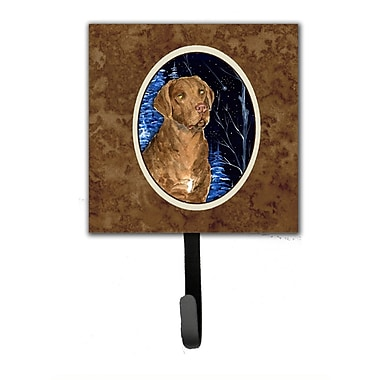 Caroline's Treasures Starry Night Chesapeake Bay Retriever Leash Holder and Wall Hook