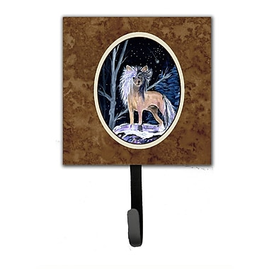 Caroline's Treasures Starry Night Chinese Crested Leash Holder and Wall Hook
