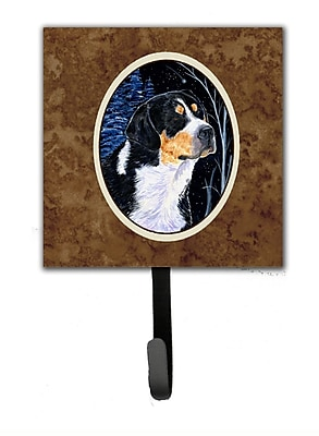 Caroline's Treasures Starry Night Bernese Mountain Dog Leash Holder and Wall Hook