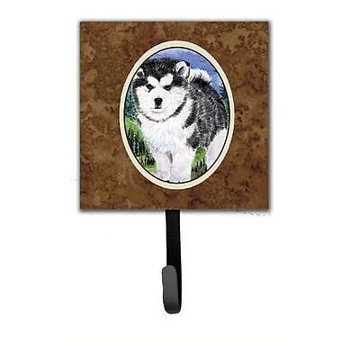 Caroline's Treasures Alaskan Malamute Leash Holder and Wall Hook