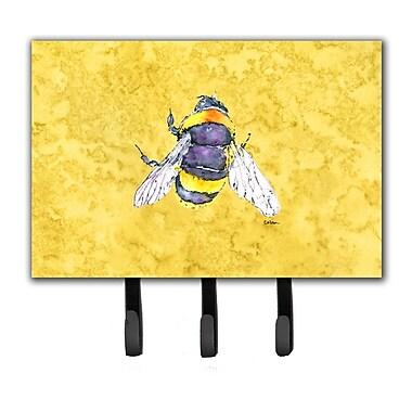 Caroline's Treasures Bee Key Holder