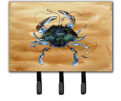 Caroline's Treasures Crab Leash and Key Holder