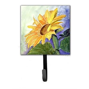Caroline's Treasures Sunflower Leash Holder and Wall Hook