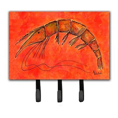Caroline's Treasures Shrimp Leash Holder and Key Hook