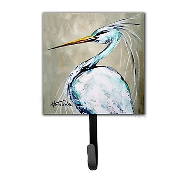 Caroline's Treasures Heron Smitty's Brother Leash Holder and Wall Hook