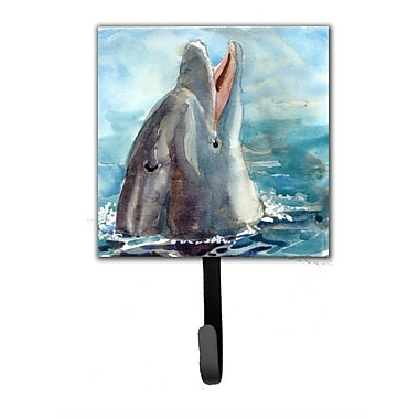 Caroline's Treasures Dolphin Leash Holder and Wall Hook