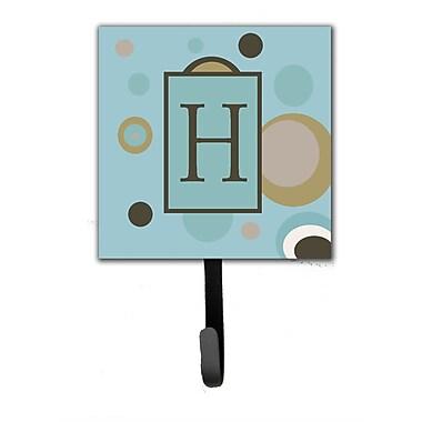 Caroline's Treasures Monogram Dots Wall Hook; H