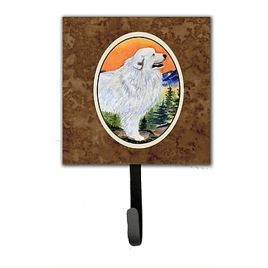 Caroline's Treasures Great Pyrenees Leash Holder and Wall Hook